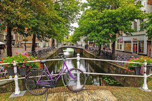 De magrela em Amsterdam