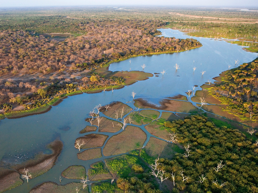 aerial-view-of-the-okavango-delta-channels-and-landscape